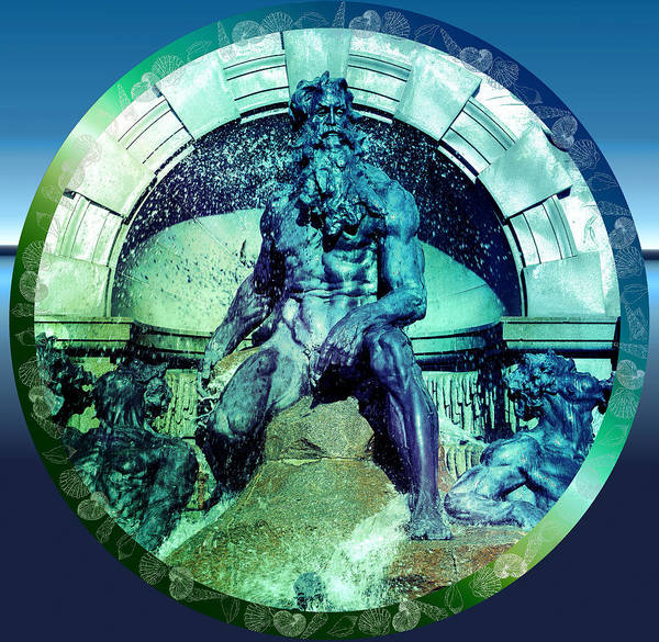 Photograph - Neptune Roman God by Robert G Kernodle