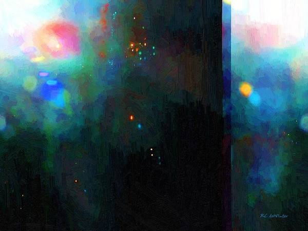 Painting - Neptune's Monolith by RC DeWinter