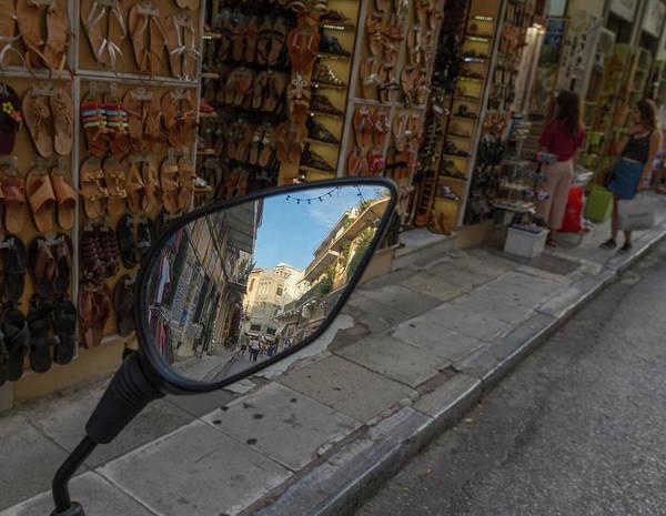 Wall Art - Photograph - Nested Athens Street Views by Iordanis Pallikaras