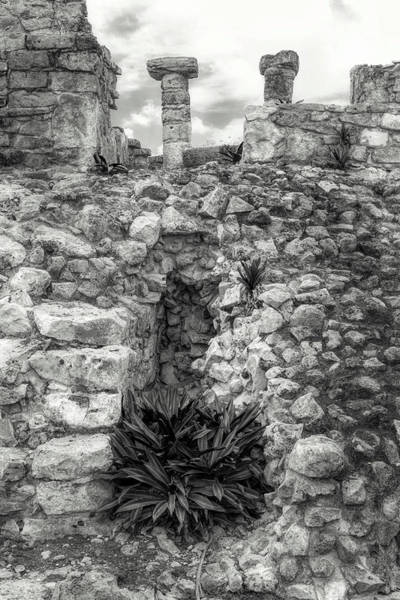 Photograph - Nestle Rock B/w by Wes Jimerson