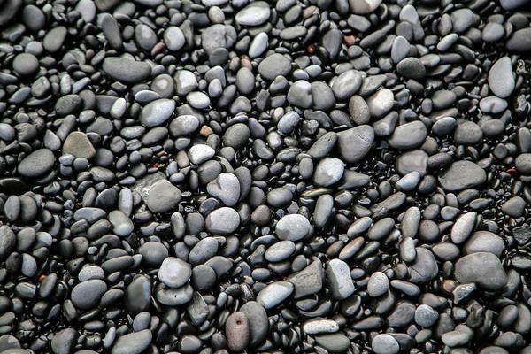 Rock Island Line Photograph - Nestled Beach Stones By The Hundreds by Betsy Knapp