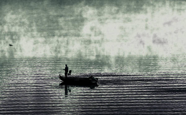Photograph - Netherworld Lake by Steven Huszar