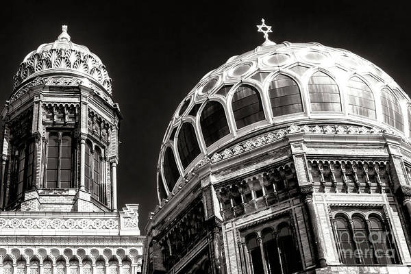 Wall Art - Photograph - Neue Synagogue Dome by John Rizzuto