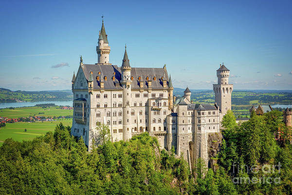 Wall Art - Photograph - Neuschwanstein Castle by Delphimages Photo Creations