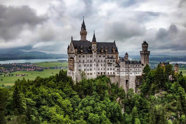 Figueroa Mountain Photograph - Neuschwanstein Castle In Germany by Lori Figueroa