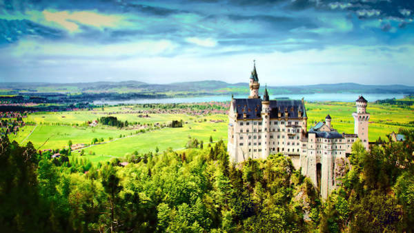 Neuschwanstein Castle Art Print