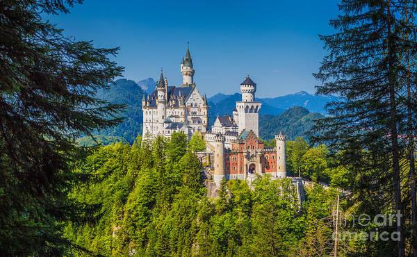 Wall Art - Photograph - Neuschwanstein Fairytale Castle #2 by JR Photography