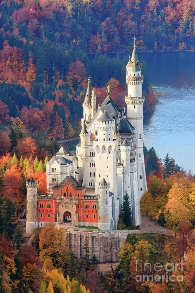 Well-known Photograph - Neuschwanstein - Germany by Henk Meijer Photography