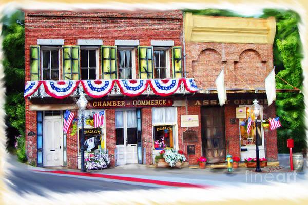 Nevada City Chamber Art Print