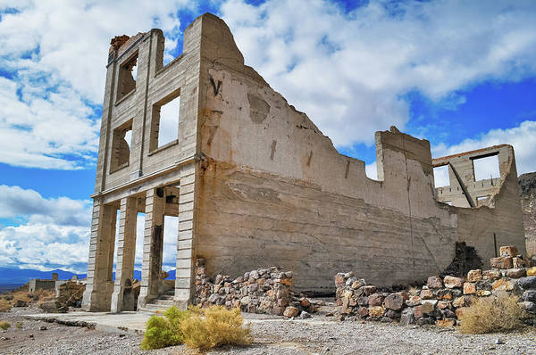 Photograph - Nevada Rhyolite Ghost Town by Kyle Hanson