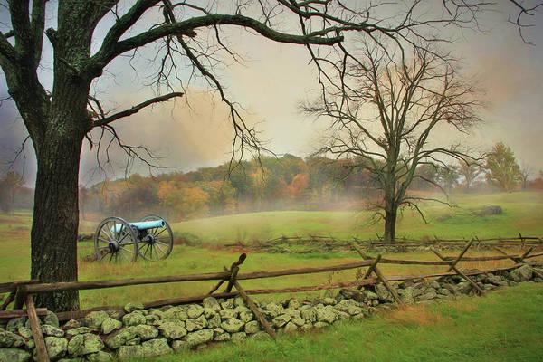 Gettysburg Battlefield Photograph - Never Fear Your Enemy by Lori Deiter