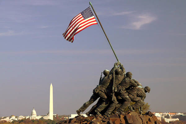 Marine Corps Wall Art - Photograph - Never Forget by Mitch Cat