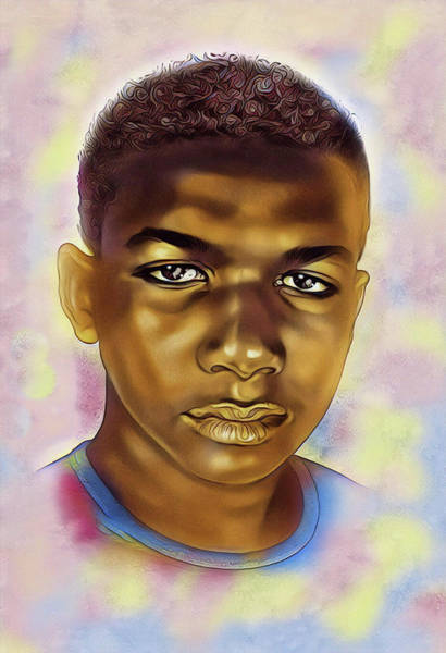 Digital Art - Never Forget Trayvon by Karen Showell