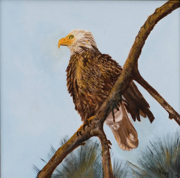 Painting - Never Give Up by Kathy Knopp