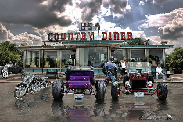 Rat Rod Wall Art - Digital Art - Never Have Traveled Such Roads Of Love .... by Rat Rod Studios