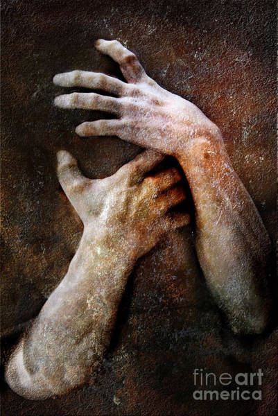 Emotive Photograph - Never Let Go by Jacky Gerritsen