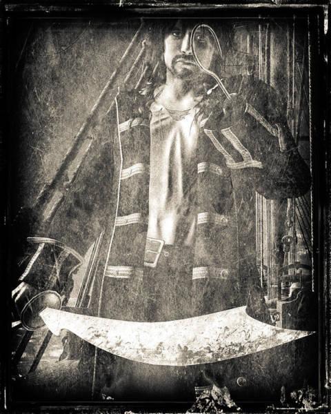 Phantasy Digital Art - Never Neverland Captain Hook by Bob Orsillo
