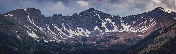 Photograph - Never Summer Mountains Panorama by Andy Konieczny