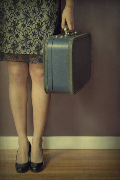 Leave Photograph - Never To Look Back by Evelina Kremsdorf