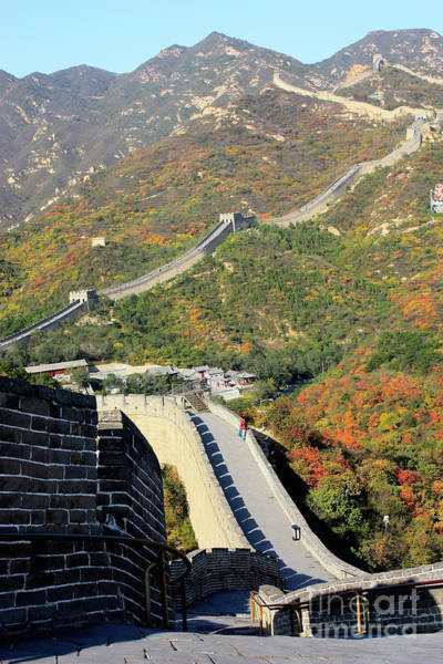 Photograph - Neverending Great Wall Of China by Carol Groenen