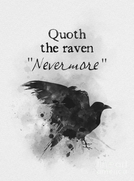 Wall Art - Mixed Media - Nevermore by My Inspiration