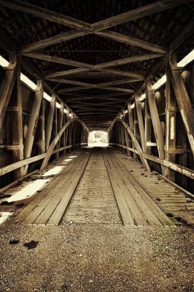 Rockville Photograph - Nevins Bridge by Joanne Coyle