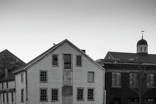 Photograph - New Bedford Ma I Bw by David Gordon