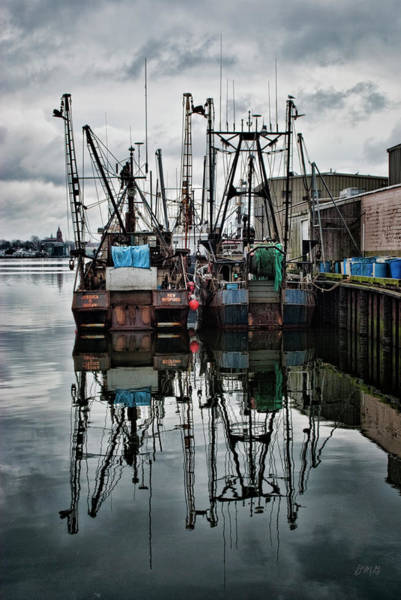 Photograph - New Bedford Waterfront No. 1 - Color by David Gordon