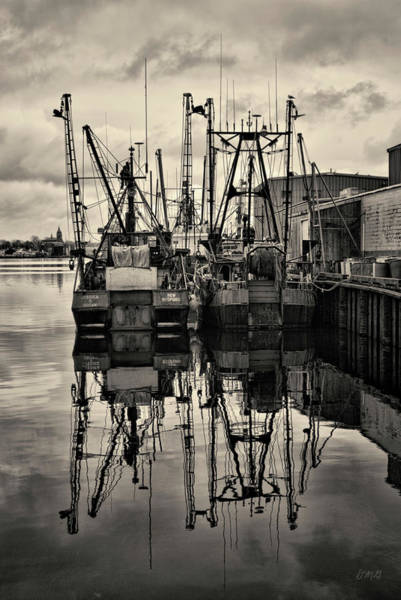New Bedford Waterfront No. 1 Art Print