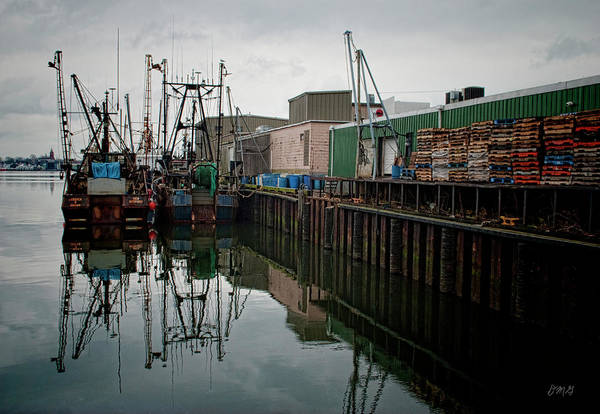 Photograph - New Bedford Waterfront No. 4 by David Gordon