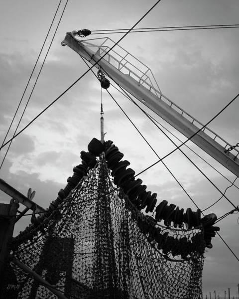 Photograph - New Bedford Waterfront Xvii Bw by David Gordon