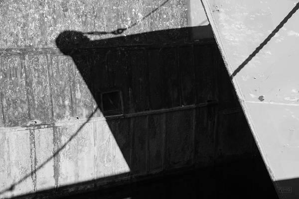 Photograph - New Bedford Waterfront Xx Bw by David Gordon