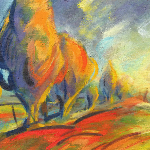 Painting - New Beginning 2 by Konnie Kim