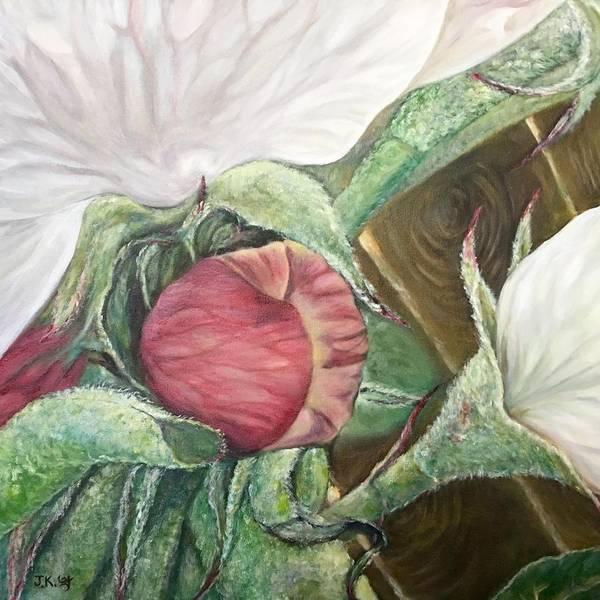 Wall Art - Painting - New Beginning by Jennifer Kwon