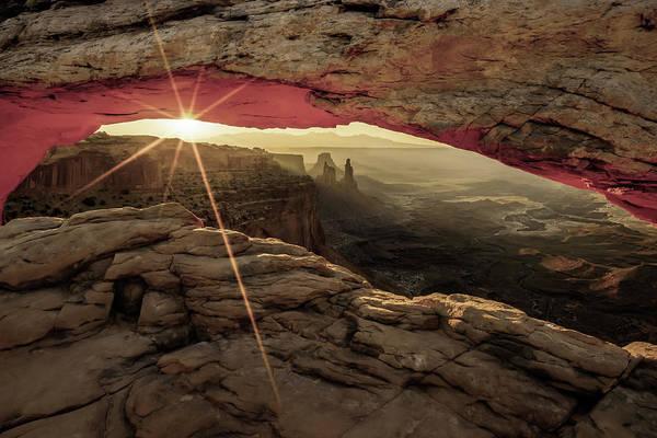 Photograph - New Beginnings - Canyonlands Np Mesa Arch - Utah by Gregory Ballos