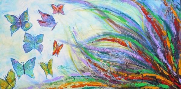 Painting - New Beginnings by Deborah Brown Maher