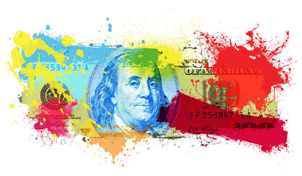 Wall Art - Painting - New Bill 100.2 by George Lacy