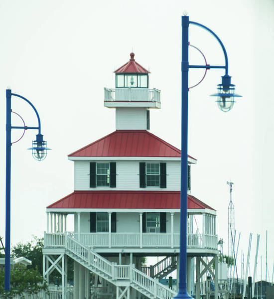 Wall Art - Photograph - New Canal Lighthouse by Linda Eszenyi
