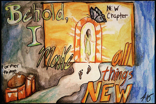 New Chapter Art Print