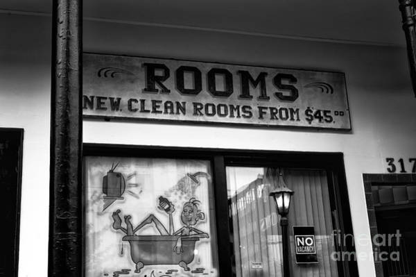 Wall Art - Photograph - New Clean Rooms Mono by John Rizzuto