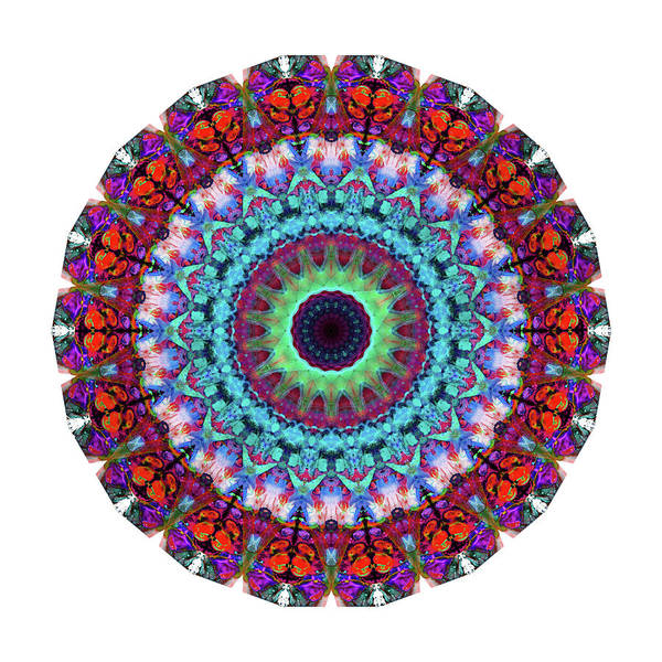 Om Wall Art - Painting - New Dawn Mandala Art - Sharon Cummings by Sharon Cummings