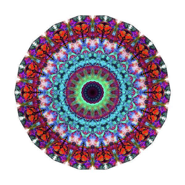 Painting - New Dawn Mandala Art - Sharon Cummings by Sharon Cummings