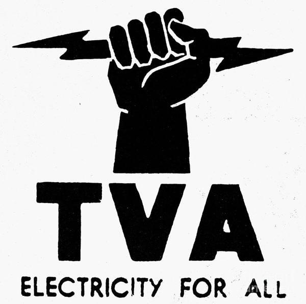 Photograph - New Deal: Tva Symbol by Granger