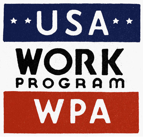 Photograph - New Deal: Wpa by Granger