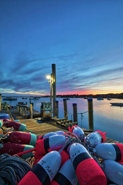 Photograph - New England Harbor by Juergen Roth