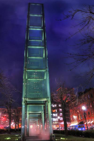 Photograph - New England Holocaust Memorial - Boston by Joann Vitali