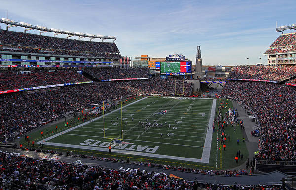 Photograph - New England Patriots by Juergen Roth
