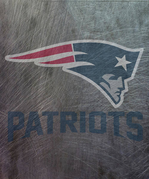 Mixed Media - New England Patriots Translucent Steel by Movie Poster Prints