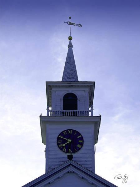 Photograph - New England Steeple by Paul Gaj