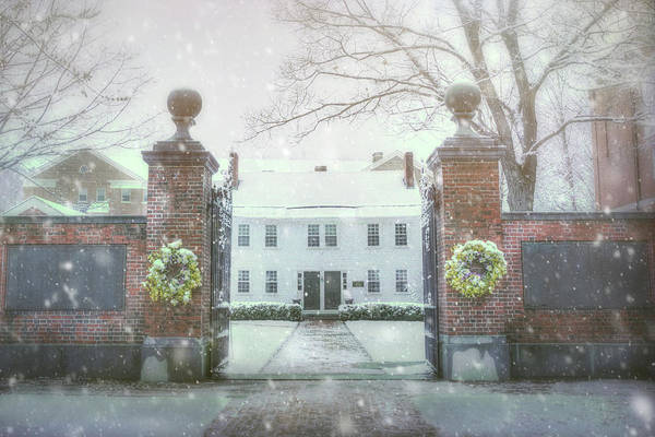 Photograph - New England Winter Scene - Peterborough Nh by Joann Vitali